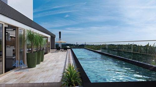 Apartamento Com 2 Dormitórios À Venda, 78 M² Por R$ 908.624,00 - Jurerê Internacional - Florianópolis/sc - Ap3271
