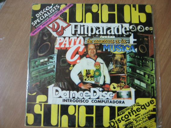Pato C Hitparade Dance Disc Lp Vinilo Impecable Laferrere-ba