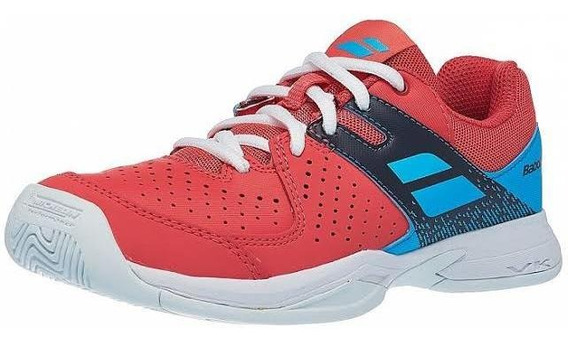 Tênis Babolat Pulsion All Court Jr 34 Rosa/azul
