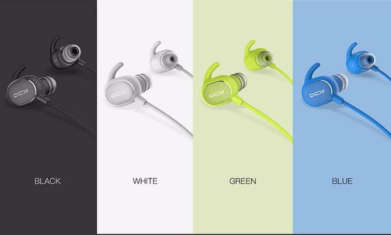 Fone Ouvido Qcy Qy19 Ipx4 Bluetooth Sem Fio - Diversas Cores