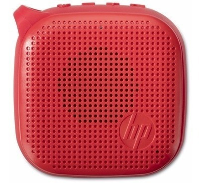 Caixa Som Mini Speaker 300 Bluetooth Hp - X0n12aa - Vermelha