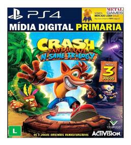 Crash Bandicoot N. Sane Trilogy Ps4 - Digital Original 1ª