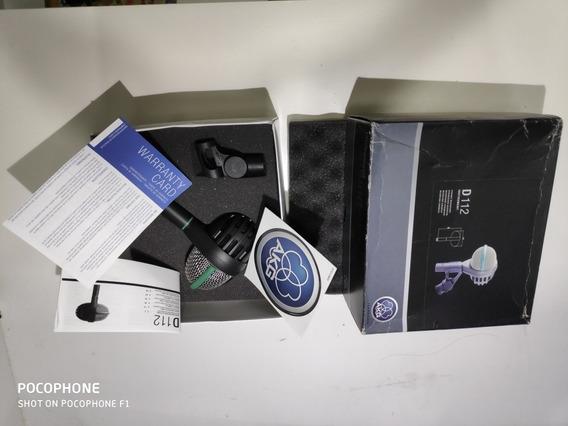 Microfone Akg D112 Para Bumbo E Baixo Zerado