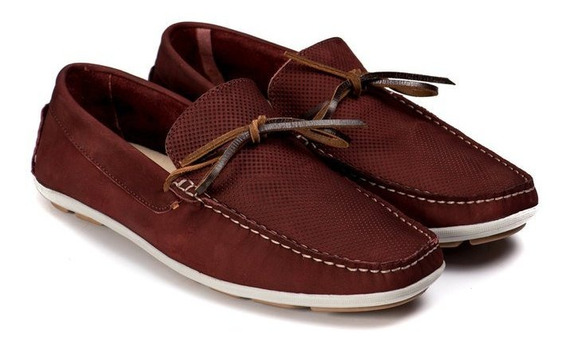 Sapato Casual Mocassim Masculino Couro 5005 - Frete Grátis