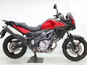 Suzuki - V Strom 650 - 2016 Vermelha