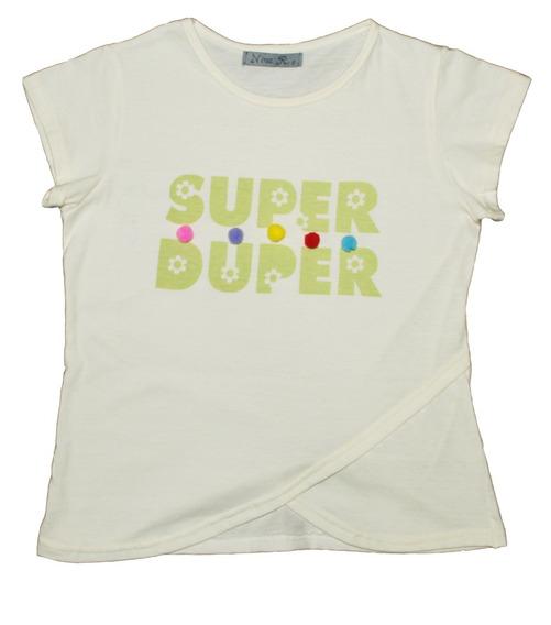 Remera Nena Super Dooper 2019, Nina