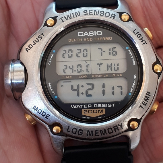 Casio Dep 600 Twin Sensor Log Memory