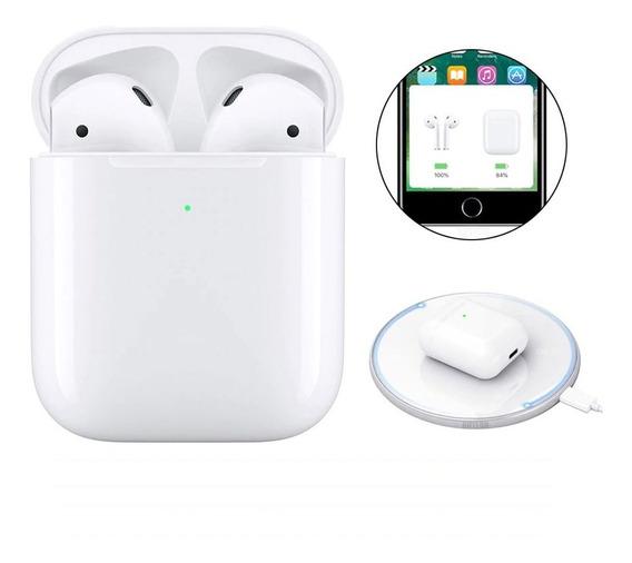 Audífonos AirPods I800 Tws Bluetooth 5.0 Manos Libres Qi