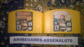 Nintendo 64 Donkey Kong 64 Y Expansion Pack N64 C/u