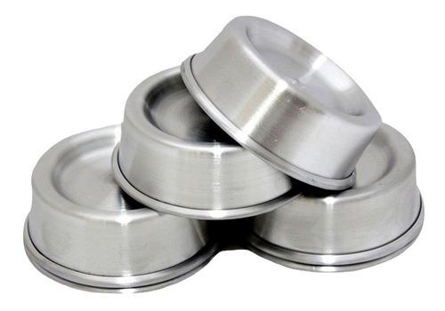 Forma Mini Ballerine Alumínio (fundo Rebaixado) - Dúzia