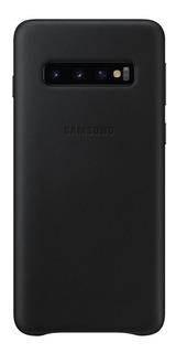 Funda Samsung Leather Cover - Protective - S10 - Black
