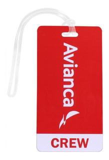 Etiqueta Avianca Crew