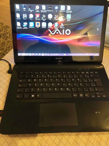 Notebook Sony Vaio Svf142c29x-touch Screen-pouco Uso -retire