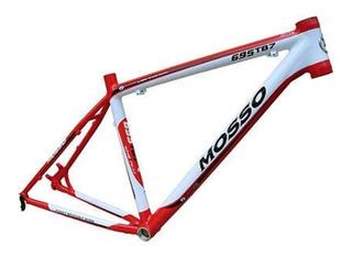 Quadro Mtb Alumínio 7046 Mosso Premium Aro 26 Top Promoção