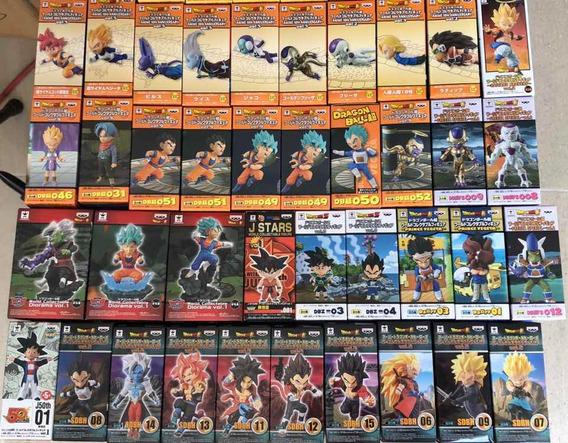 Dragon Ball Wcf Goku Vegeta Bills Gohan
