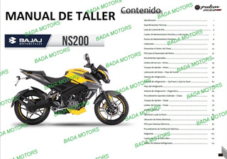 Manual Taller Despiece Bajaj Rouser Ns200 Pulsar Carburador