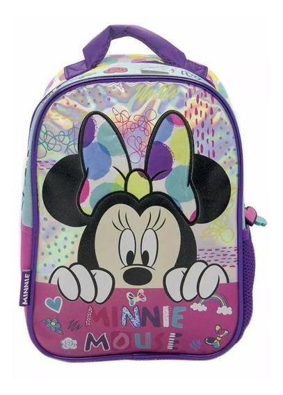Mochila Minnie Mouse Espalda 12 Pulgadas Jardin Original