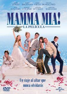 Mamma Mia La Pelicula Dvd Original En Stock
