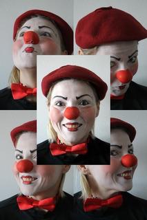 Nariz De Palhaço Em Látex Profissional Nº2 Mascara
