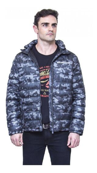 Jaqueta All Terrain Camuflada Cinza Atr Inverno Masculina