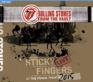 Rolling Stones From The Vault - Sticky Fingers Blu-ray + Cd
