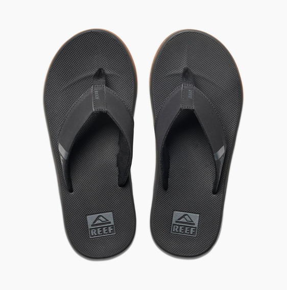 Ojotas Reef Fanning Low Black Distribuidor Oficial Reef