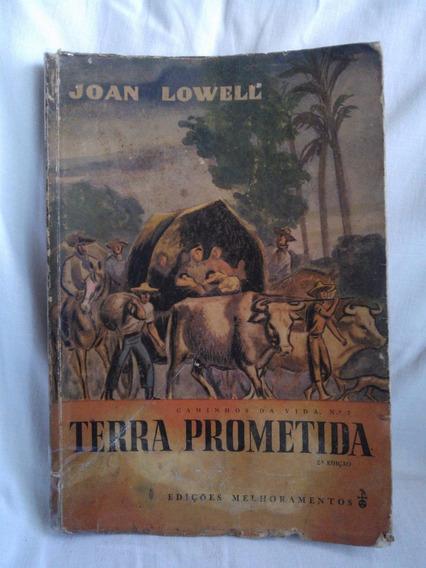 Antigo Raro Livro Terra Prometida- Caminhos Da Vida- Nº1899g
