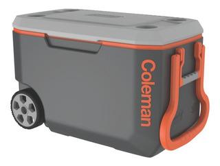 Caixa Térmica Coleman 58 Litros 62qt Cinza C/ Rodas