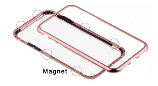 Capinha Capa Case Magnetica Do Samsungj4 Plus Rose