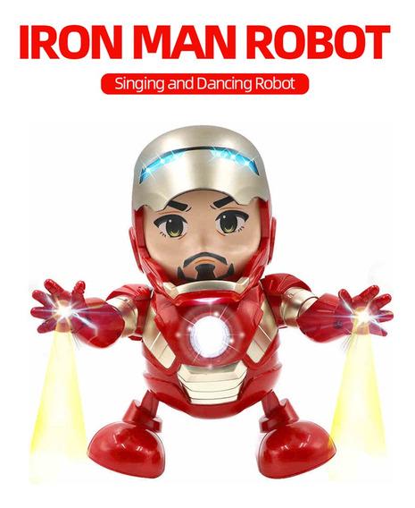 Muñeco Electrónico Marvel Avengers Iron Man C/luz De Juguete