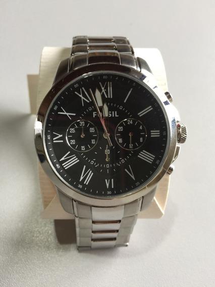 Relógio Fossil Fs4736 Masculino Original Metal A Prova D