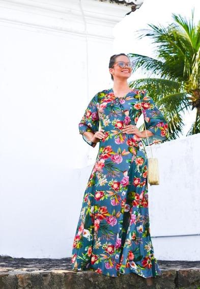 Vestido Verão 2019 Estampado Gioconda Portto