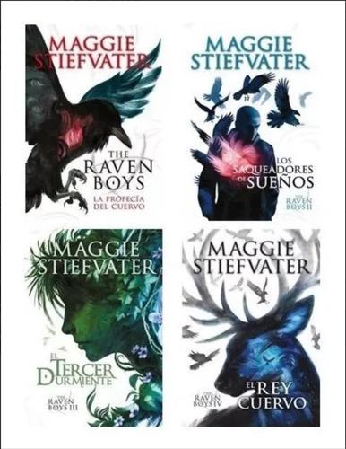 Saga Completa Raven Boys (4 Libros) - Stiefvater, Maggie
