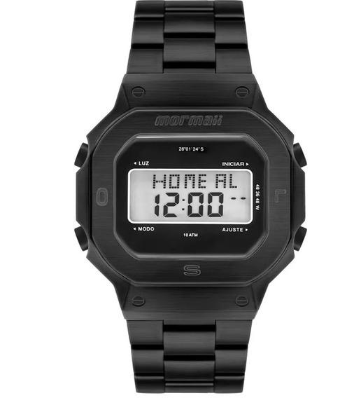 Relógio Mormaii Digital Preto Masculino Mobj3421ab/4p