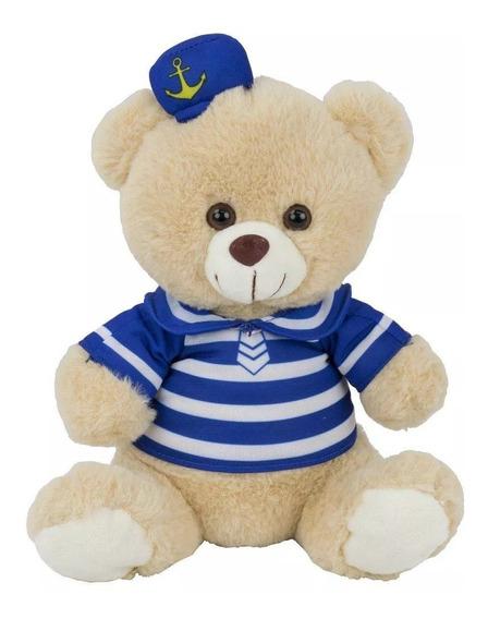 Urso De Pelúcia Marinheiro Bbr Toys 77363