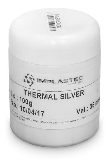 Thermal Silver Pasta Térmica Base De Prata P/ Processadores