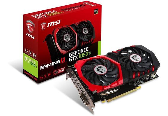 Tarjeta Gráfica Msi Gaming Geforce Gtx 1050 Ti 4gb Gdrr5...