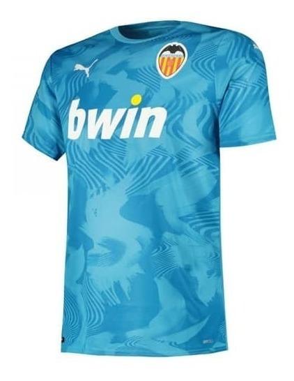Camisa Nova De Futebol Do Valencia 19/20 Espanha Oficial