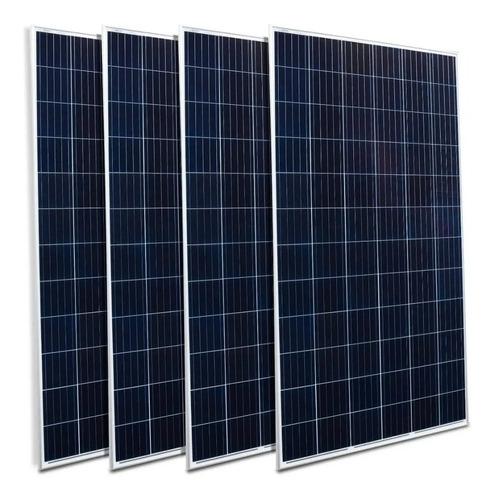 4 Uni - Painel Solar Fotovoltaico Odex 330w 72 Cel Poly 5bb