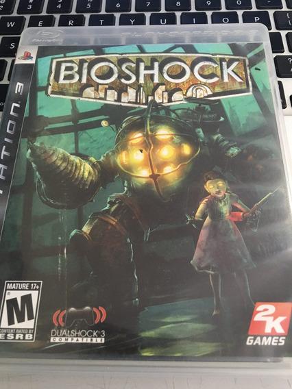 Jogo Ps3 Bioshock 1 Mídia Física Barato Envio Já Veja!!