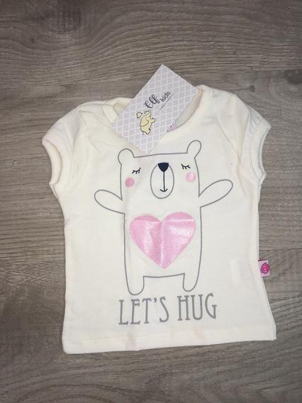 Blusa Baby Ursinha Menina Infantil Promoção