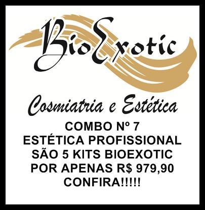 Combo Nº 7 Estética Profissional-5 Kits Bioexotic