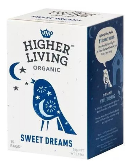 Té Orgánico Para Dormir Higher Living Sweet Dreams A0003061