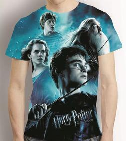 Camisa Filme Camiseta Harry Potter - Estampa Total