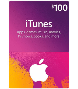 Cartao Apple Itunes 100 Dólares Usd