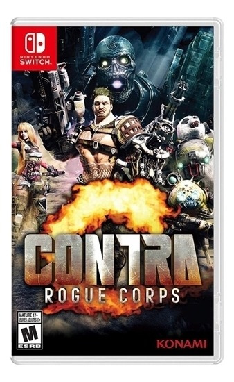 Contra Rogue Corps - Switch Lacrado