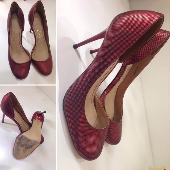 Sapato Vermelho Nr 34