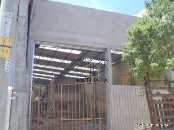 Galpão Comercial Para Locação, Jardim São João, Jandira - Ga0010. - Ga0010