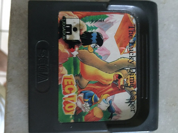 Game Gear : Cartucho The Lucky Dime Caper Original