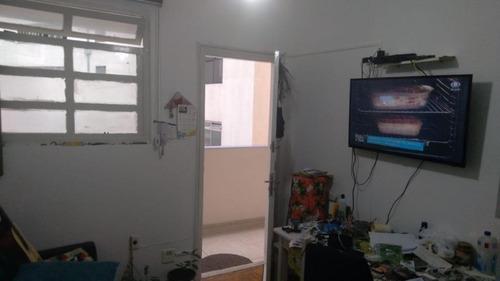 Kitnet À Venda, 38 M² Por R$ 175.000,00 - José Menino - Santos/sp - Kn0237